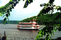 Paddle boat on the St.Croix river